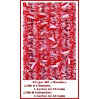 Slinger kecil merah putih bendera / HUT RI / 17 agustus / 17an - 1786B