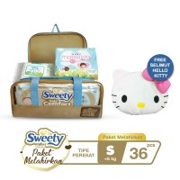 Sweety Gold Comfort Birth Package S Free Selimut Hello Kitty