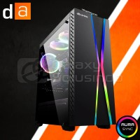 Digital Alliance DA Gaming N22 Tempered Glass Mid Tower Gaming Case