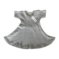 Grey Simply Dress