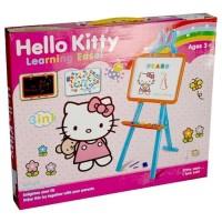 Mainan Anak PAPAN TULIS LEARNING EASEL HELLO KITTY No.KT3655