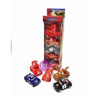 Mainan Anak Mobil Cars 5 pcs Pull Back 765-1