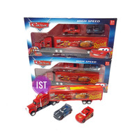 Mainan Anak Truck Container CARS Alloy 1210.27S