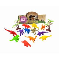 Mainan Anak Binatang Dinosaur jurasic Mini 12 pcs 1122AB