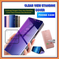 VIVO Y15 CLEAR VIEW FLIP COVER HARD CASE STANDING