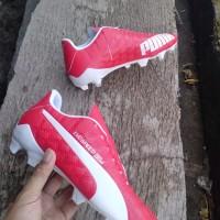 ff8bed36ee5 Sepatu Bola/ Soccer/Sepatu Sepakbola Puma Evo Speed Merah Komponen Ori