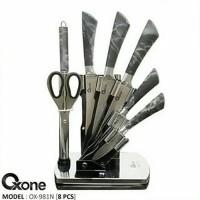 Oxone Butterfly Knife pisau dapur oxone 8 pcs set OX981N OX-981N