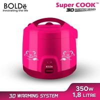 Bolde Rice Cooker Super Cook Bolde 3D 1.8 Liter Maestro Series