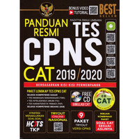 Panduan Resmi Tes CPNS CAT 2019/2020 Plus CD