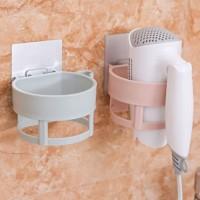 rak plastik hair dryer rack bathroom shelf hsa048