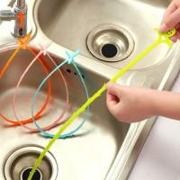 alat pembersih lubang wastafel sink anti-blocking cleaning hook hsa047