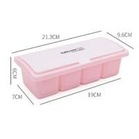 kotak bumbu seasoning jar plastic box hko004