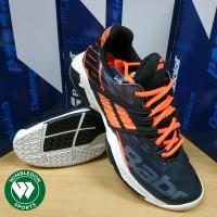 Sepatu Tenis Babolat Propulse Fury All Court Black/Fluo Strike