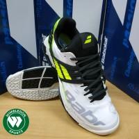 Sepatu Tenis Babolat Propulse Fury All Court White/Fluo Aero