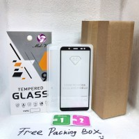 Tempered Glass Full Lem Samsung J6 2018 Anti Gores Full Lem