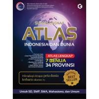 Super Lengkap Atlas Indonesia Dan Dunia