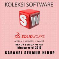 Solidworks Pro Premium Garansi SEUMUR HIDUP terlengkap se-TOKOPEDIA