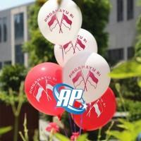 balon latex hut RI / balon dirgahayu 17 agustus / latex merah putih