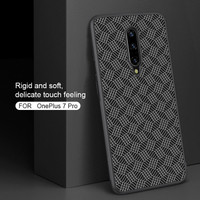 Hard Case OnePlus 7 Pro Nillkin Synthetic Plaid