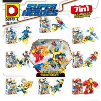 Dlp 9093 Ironman Avengers Super Hero Minifigure lego Marvel DLp9093