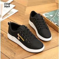 Ladies Fashion Sneakers Korea Shoes FLS-C05@