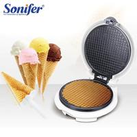 Ice Cone Maker Sonifer SF-6034 / Mesin pembuat cetakan crispy es krim