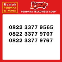 Perdana nomor cantik Telkomsel Loop 0822 3377 xxxx 4