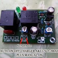 Kit Otomatis Charger Aki dengan Kemampuan 5-200 Ah