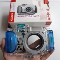 Canon WP-DC33 Digital Camera Waterproof Case 40mm/130ft Original