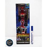 Figure Marvel Avengers Titan Hero Series OEM Spiderman Bukan Hasbro