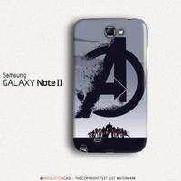 Avengers Endgame Logo Samsung Galaxy Note 2 Custom Hard Case