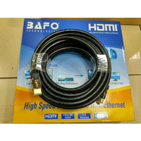 BAFO High Speed Cable/Kabel HDMI To HDMI 10Meter SUPPORT FULL HD 1080p
