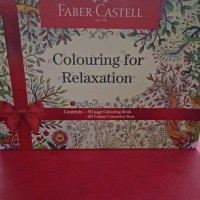 colouring for relaxation gift box faber castell