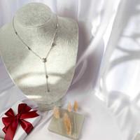 DearMe - DALIA Necklace (925 Sterling Silver with Zirconium Crystals)