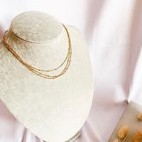 DearMe - MARGARETH Necklace ( 14K gold plating)
