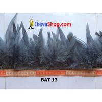 Bulu Ayam Bulet Abu abu (BAT 13)