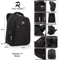 Polo Trands Backpack Expandable 25L 72816 - Tas Ransel Laptop Tas Polo