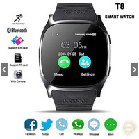 T8 Smart Watch Phone 1.54 inch IPS GSM Bluetooth Watch with Pedometer