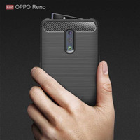 Case IPAKY OPPO Reno Carbon Softshell cover case ipaky carbon