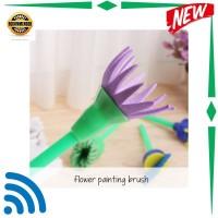 Kode : TOY NETMALL FLOWER PAINTING BRUSH/ Alat melukis brush