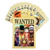One Piece Anime Comics Character Collector Edition Playing Poker Cards