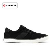 Sepatu Airwalk Pria Sneakers Lerie kasual Black Original