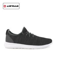 Sepatu Airwalk Pria Sneakers Lerry kasual Grey Original