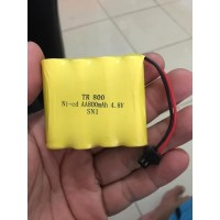 JS RC Offroad Baterai Mobil RC 4,8v socket hitam mata ikan