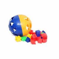 Mainan edukatif mainan edukasi puzzle ball bola pintar FREE BUBBE