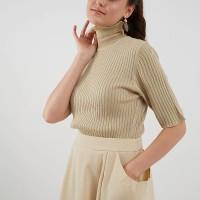 Berrybenka Brilly basic sweater beige