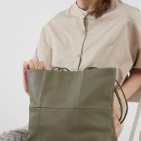 Berrybenka Lindion Febitha Classic Shoulder Handbags Olive