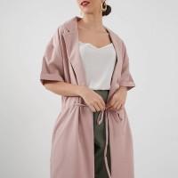 Berrybenka Nurill Tied Dress Pink
