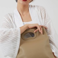 Berrybenka Lilla Febitha Classic Shoulder Handbags Khaki