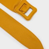 Berrybenka Latisha Decyta Textured Belts Yellow